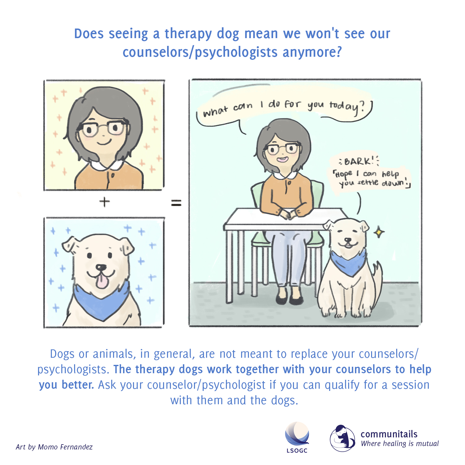 Communitails Animal-Assisted Therapy